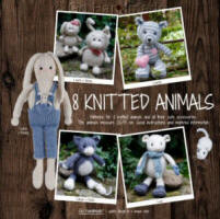 Go Handmade 8 Knitted Animals Book - Click HERE to view some of the patterns in this Book