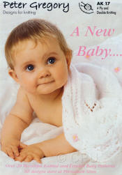 Peter Gregory A New Baby Book AK17 - Click HERE to view some of the patterns in this Book