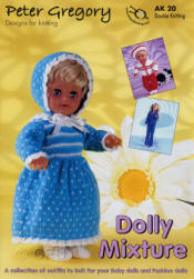 Peter Gregory Dolly Mixtures Book AK20 - Click HERE to view some of the patterns in this Book