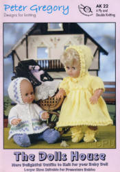 The Dolls House Book AK22 - Click HERE to view some of the patterns in this Book