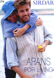 Sirdar Denim Aran Pattern Books