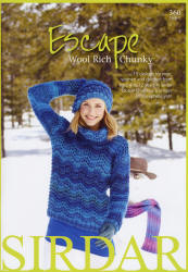 Sirdar Escape Chunky Pattern Books