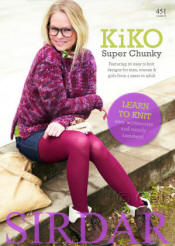 Sirdar Kiko Super Chunky Pattern Books