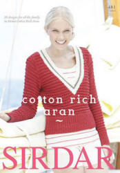 Sirdar Cotton Rich Aran Pattern Books