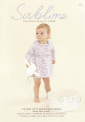 The First Little Sublime Baby Prints Hand Knit Book 712