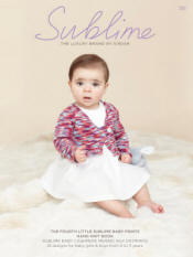 The Fourth little Sublime baby prints hand knit Book 731