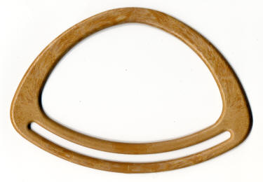 Lighter Wood Effect Curved Handles