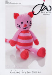 Pattern shown is 5001 - Tiddles Toy Approx 36cm high