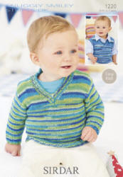 Sirdar Snuggly Smiley Stripes Double Knit Patterns