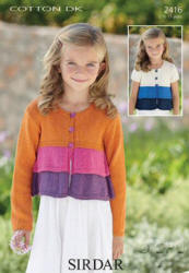 Sirdar Cotton Double Knit Patterns
