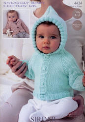 Sirdar Snuggly Baby Cotton Double Knit Patterns
