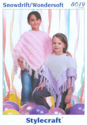 Stylecraft Eskimo Snowdrift Double Knit Patterns