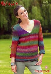 Stylecraft Harlequin Chunky Patterns