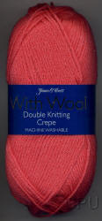 James C.Brett Crepe with Wool Double Knit yarn