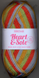 Sirdar Heart & Sole Sock 4ply yarn