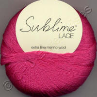 Sublime Extra Fine Merino Wool Lace 2ply yarn